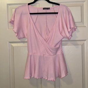 Wrap shirt size 10/L